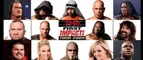 TNA 2009 First Impact Tour - Winterthur