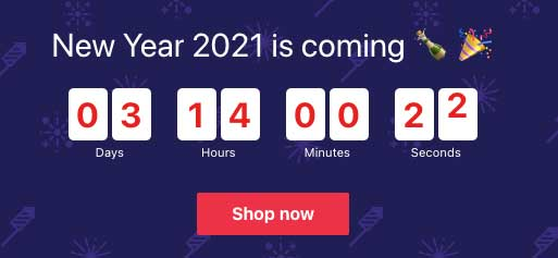 Countdown per Capodanno
