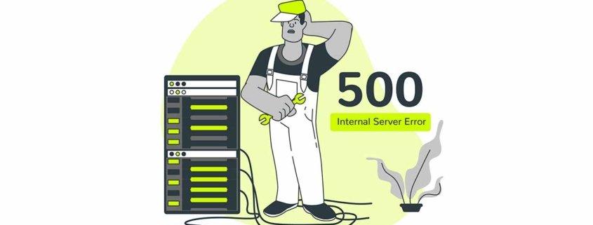 Errore 500 Internal Server Error